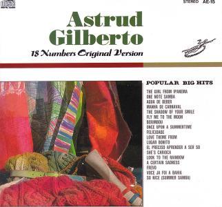 Astrud Gilberto Berimbou Manha De Carnival